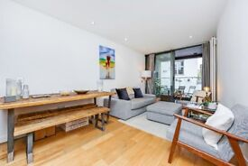 Rochester Place NW1: one bedroom flat / private balcony / gated development / furnished
