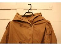 Sessun Coat in XS brown camel 50s jacket
