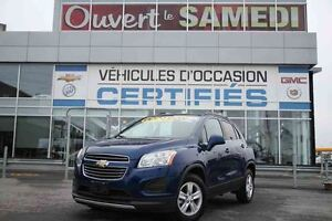 2016 Chevrolet TRAX AWD LT CROSSOVER 4X4+TOIT OUVRANT+SIEGES CHA