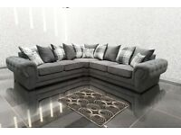 50% REDUCTION* THE LUXURY VERONA SOFA RANGE: CORNER SOFAS, 3+2 SETS, ARM CHAIRS AND FOOT STOOLS*
