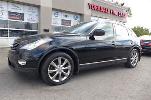 2010 Infiniti EX35 Tech Pkg. Leather. Roof. Rear Cam