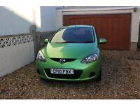 Mazda 2 TS2 2010 5 Door 1.3 FSH (Green)
