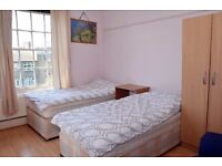 J - Amazing Twin Room in Central London / zone 1 / Edgware Road Station / all bills included