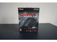 Trust GXT 155 Gaming Mouse Adjustable Weight 11 Programming Buttons