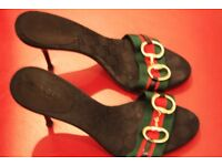 Stylish Gucci Mules, size 38.5, Purchased for £615, on sale for £140. Final Reduction