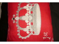 Collectable postage stamp cushion