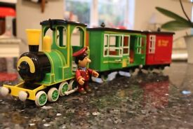 Postman Pat Battery Operated Motorised Greendale Rocket train