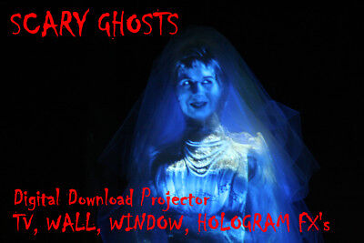 Digital Ghosts In The Window Halloween Decorations & holograms Projector FX](Halloween Hologram Projector)