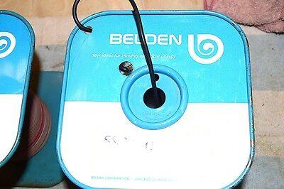 Belden New Nos 8899 Test Prod Probe Wire Black 3 Foot Length 18 Awg Stranded