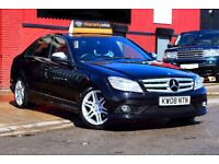 2008 MERCEDES C180 SPORT COMPRESSOR AUTO 1.8*ONE YEAR AA COVER*3 MONTHS WARRANTY*HIGH SPEC*CRUISE*