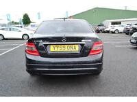 Mercedes-Benz C Class C250 CGI BLUEEFFICIENCY SPORT (black) 2009-12-08