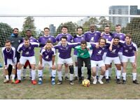 Looking for new players to join our football club. Play football London: ref 192u3