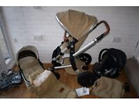 Joolz pram pushchair with extras 2 in 1 Camel beige (brown) **can post***