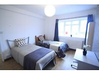 FANTASTIC TWIN ROOM IN ZONE1, MARYLEBONE!! GREAT AREA FOR LIVE LONDON! (5W)