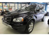Volvo XC90 D5 SE LUX AWD [SAT NAV / 7 SEATS / LEATHER] (stone black metallic) 2011
