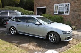 Audi A4 S line Advant in excellent condition, MOT for 11 months 3 owners, service history,