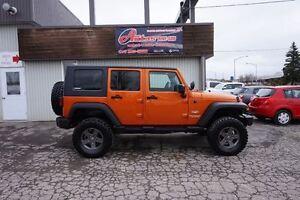 2008 Jeep Wrangler Unlimited Sahara 4X4 FULL ÉQUIPÉ SEULEMENT 16