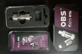 Silver OBS Crius RTA - NEW !!!