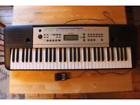 Yamaha Digital Keyboard. YPT 255. Very good condition. 5 octaves. 61 keys. Stand not included