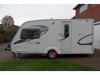 Touring Caravan. Single Axle. Weight 1,384 Kg's.