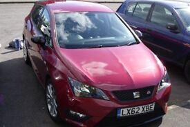 Seat Ibiza fr 2012 1.2 Tsi 5 door Red (62)