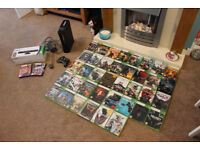 XBOX 360 Bundle - Console, Games, Kinect and Controller!