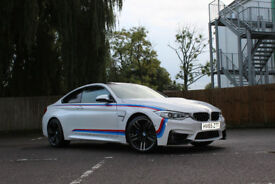 BMW M4 Coupe F82 3.0 M4 DCT 2dr (start/stop) white 2015