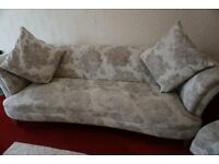 Sofa and Matching Single Chair For Sale