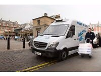 Experienced delivery driver req. 24 hours plus per week