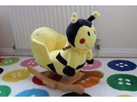 Bumblee Bee Baby Rocker