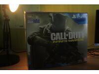 PS4 500gb slim, black. Infinity Warfare bundle