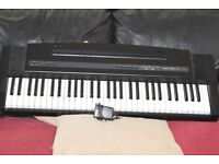 ROLAND EP-3 KEYBOARD 61 KEYS/POWER ADAPTER CAN BE SEEN WORKING