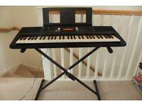 Yamaha PSR - E343 Portable Keyboard with stand
