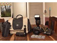 Nikon D90 DSLR Camera + Accesories