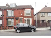 299 Marsh Lane, Bootle, 3 bedroom end terraced to let with GCH & DG. DSS welcome.