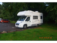 4 berth motorhome, two owners from new. Very good condition