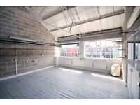 Large bright warehouse studio + Office space in the heart of Dalston