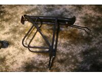 Heavy duty, fully adjustable, Bicycle Pannier rear rack/carrier
