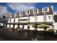 The Argyll Hotel in Ullapool is seeking to employ an evening BAR MANAGER for their small hotel