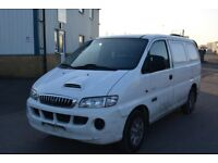LEFT HAND DRIVE HYUNDAI H200 VAN,DRIVES WELL,GOOD LOAD SPACE,ENGINE & MECHANICS,PAPER SORTED.CALL
