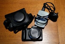 Canon Powershot Sx170 IS [with Leather Case]