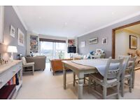 An incredibly bright and spacious three-bedroom flat SW11