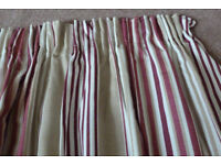 CURTAINS - READY MADE LAURA ASHLEY ALMOST PERFECT CONDITION