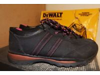 WORKWEAR CLEARANCE-USED SAFETY BOOTS & CLOTHING AT LOW LOW PRICES-HYENA-DEWALT-SITE-WORKWEAR