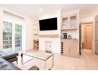 Redcliffe Close SW5. Short let- Recently refurbished two double bedroom, two bathroom flat to rent.