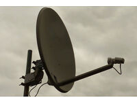 Technomate TM-8000 HD 80 MC CI (80 GB) Satellite Receiver and 1M Motorised Dish.