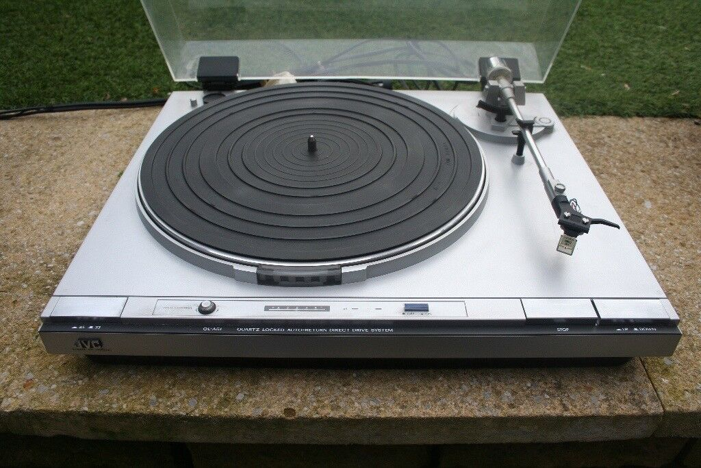 JVC QL-A51 Turntable, Quartz-Locked Direct-Drive Turntable Record player