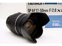 TAMRON SP AF 17-50mm F/2.8 XR LD ASPHERICAL (IF) for Nikon