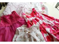 A selection of lovely toddler dresses and tops and trousers