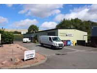3875sqft Modern Workshop Unit To Let, Prestonhall Trading Estate, Cupar